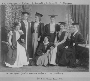 Early women at UCT