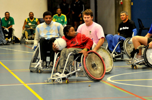 disabled sports evening