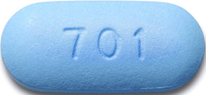 tablets (brand-named Truvada)