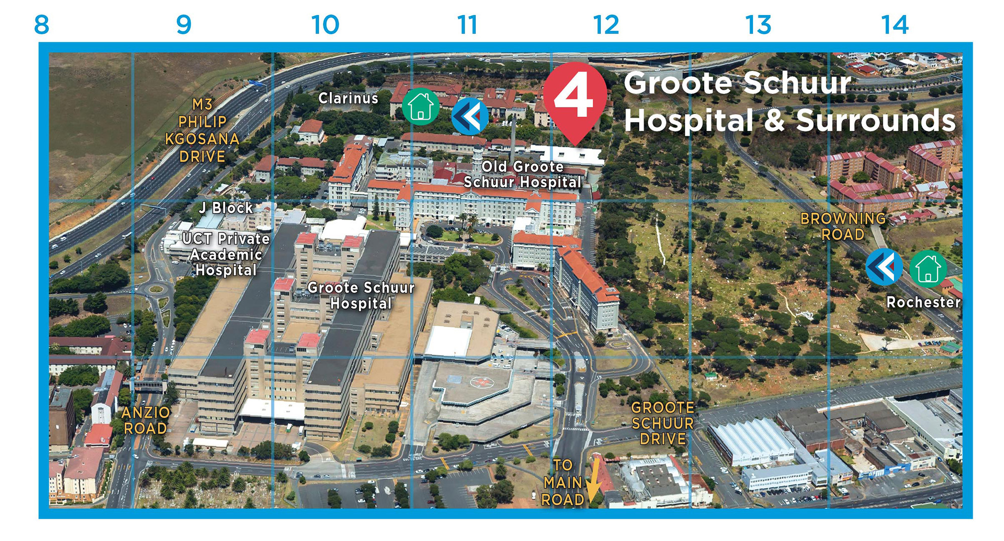 Campus maps | University of Cape Town