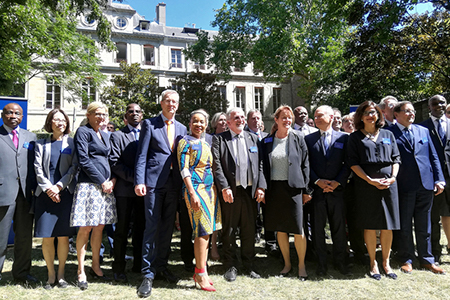 UCT Vice-Chancellor Mamokgethi Phakeng attended the inaugural U7+ Alliance Summit in 2019 in Paris. She joined university leaders from 18 countries to formalise and vote on a series of founding principles, and to commit to associated concrete actions to tackle global issues.