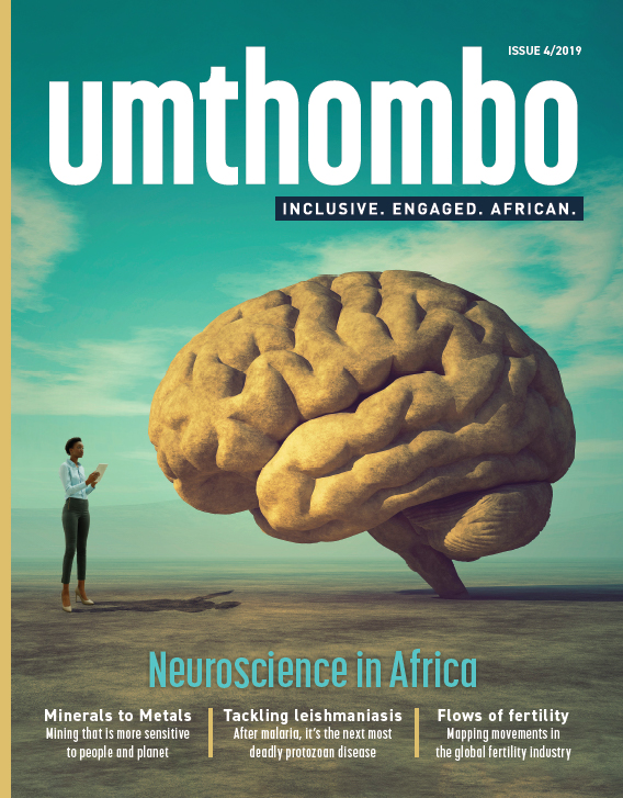 Invitation to read Umthombo, UCT's research magazine