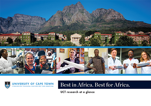 UCT research at a glance