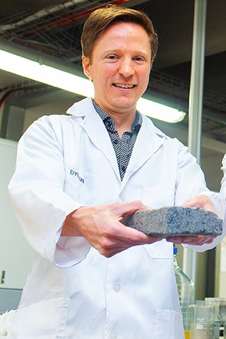 World-first: Bio-bricks from urine