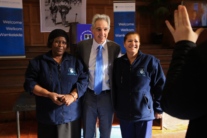 University of Cape Town / Daily news