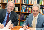 Prof Craig Calhoun and Dr Max Price