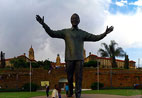 Union Buildings with Mandela statue