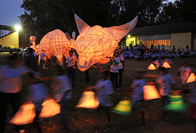Photo essay: Lantern parade shines light on forgotten stories of the |Xam