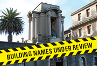 Make a name for yourself: 5 university buildings are under review, and UCT wants your input
