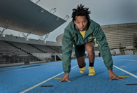 Mpumelelo Mhlongo's fast track to the Rio Paralympics