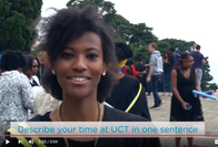 New graduates talk about their UCT experiences, and lessons learnt along the way