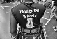 Wheelchair rugby: this month's photo essay turns the spotlight on paralympic sports