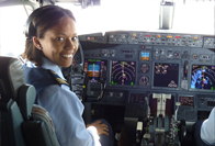 Flying lieutenant colonel to land law degree at UCT
