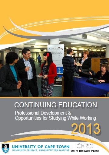Continuing Education 2013 handbook